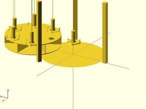 Concept: Interchangable tools for delta robot (Rostock, kossel, etc)