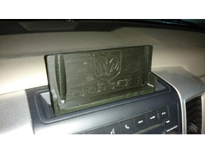 Dodge Ram 1500 Cell Phone Cradle