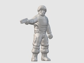 Station Security Officer (28mm/32mm scale)