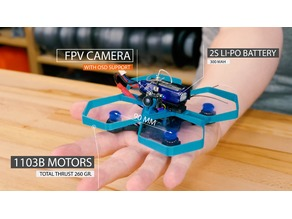 TinyTina 90mm - Mini Drone Frame