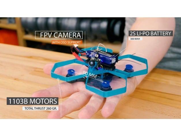 TinyTina 90mm - Mini Drone Frame
