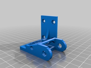 Anet A8 Linear Cable Chain left and right fixture