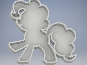 Pinkie Pie cookie cutter