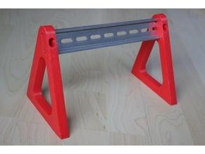 DIN Rail Stand v2