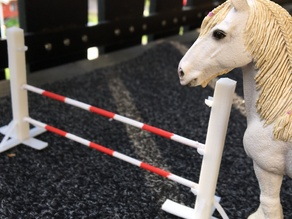 Toy Horse Jumping Obstacle