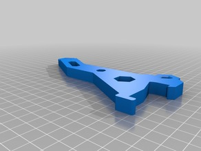 Prusa MK2.5 MK3 Spoolholder for 10mm Frames