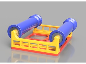 FDM and Resin Printable Ball Bearing Spool Holder