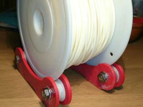 Reel of filament rolls
