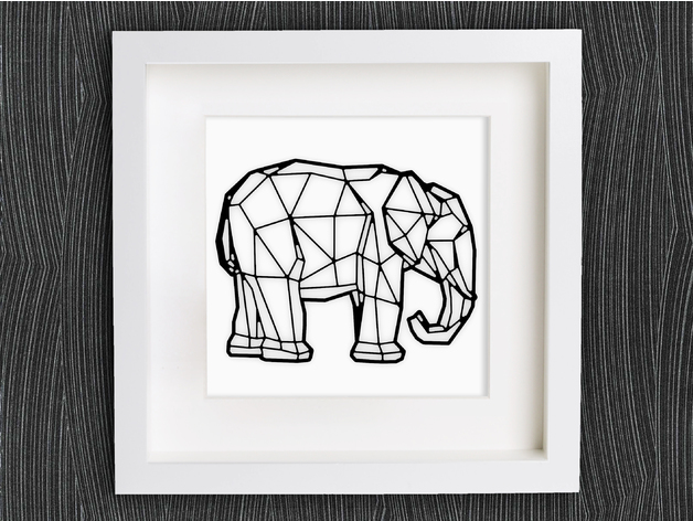 Customizable Origami Elephant By Mightynozzle
