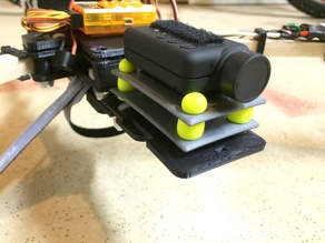Dead Simple Anti-Vibration Mount for Mobius/GoPro