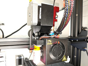 Ender 3 Direct Drive (Stock fan house) with BLTouch