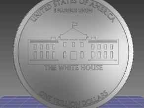 Platinum Trillion Dollar Coin