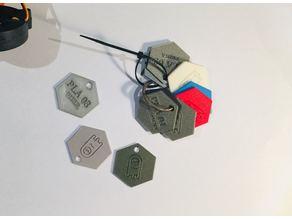 Maker coin - filament sample