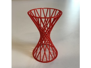 Doubly Ruled Hyperboloid