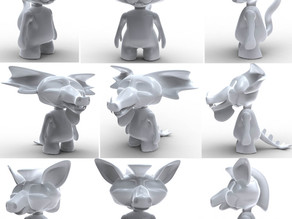 Creatures of Thingiverse