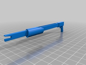 simple rubber band shotgun 50 + bands easy to print
