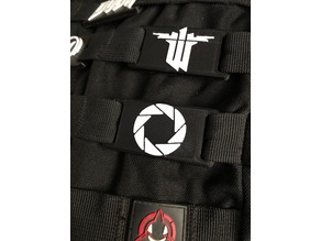Aperture Science Logo for Molle bag