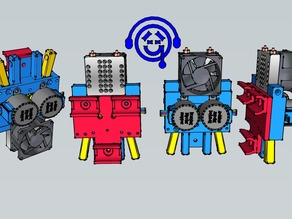 Two-color extruder for ToyRap