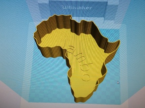 Large Africa Bowl