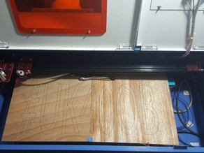 UK40OB - Ultimate K40 Laser Cutter Upgrade