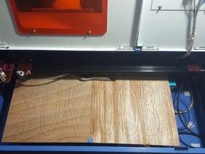 UK40OB - Ultimate K40 Laser Cutter Upgrade