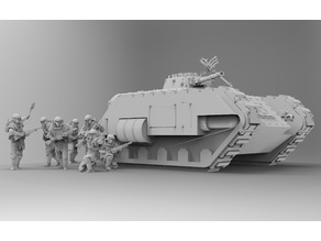 Kimera Armoured Transport - Spearhead the Assault