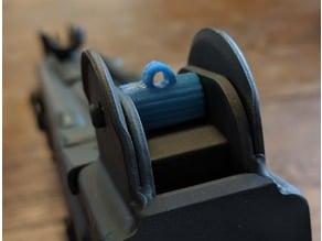 Uzi Model A Rear Sight Upgrade
