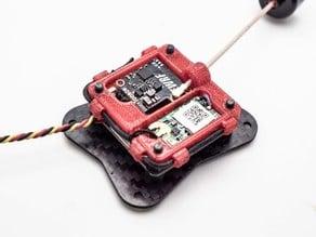 3DPOWER RX/VTX Holder for FRSKY XM+ EWRF e7087U
