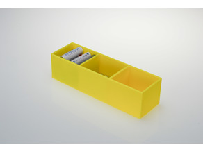 rechargeable battery storage box