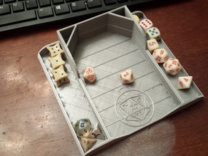 Dice Throwing Tray v 2.0