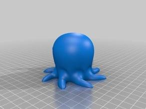 Octopus middle finger