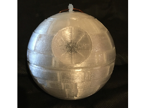 "Death Star - a Christmas tree decoration (""like-a-box"" version)"