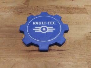 Fallout Vault Tec Coaster