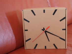 Filament Box Clock