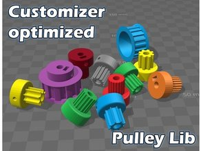 Parametric Pulley Library - Retainer improved