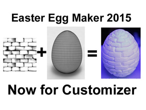 Customizer Easter Egg Maker 2015