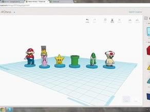Mario #Chess