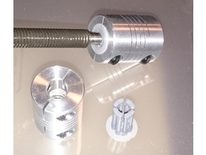 Coupler 8 to 5 mm adapter