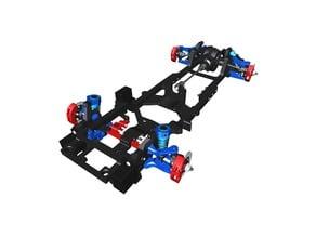 DDW 1/10 RC M-Drift 1 RWD Chassis