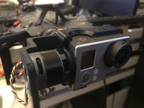 TBS Disco Gimbal GOPRO holder and arm for 2208 motors