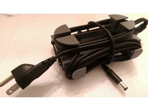 Dell Laptop Power Adapter Cord Wrap