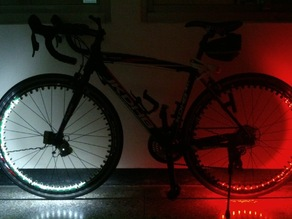 KitSprout WheelLED Bike Lighting Device
