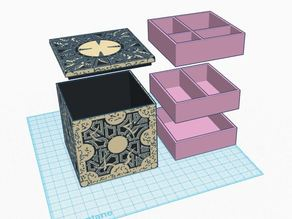 Hellraiser Jewelry Box (Lament Configuration)