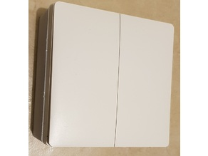 Xiaomi Wall Switch double Linex2  adaptator French