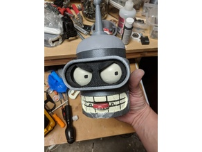 Customizable Bender (Futurama) Bottle Opener