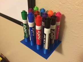 Dry-Erase Expo Marker Stand