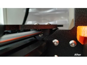 Customizable Prusa MK3 Y-axis Bearing Holder