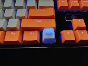 Space Invader Keycap