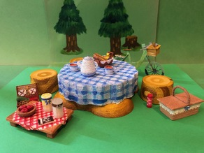 Animal Crossing Picnic Set