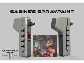 Sabine Wren Spraypaint updated